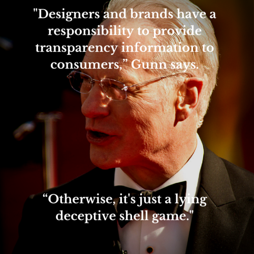 Designers and brands have a responsibility