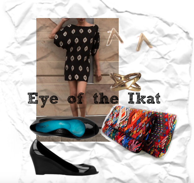 Limited edition ikat dress