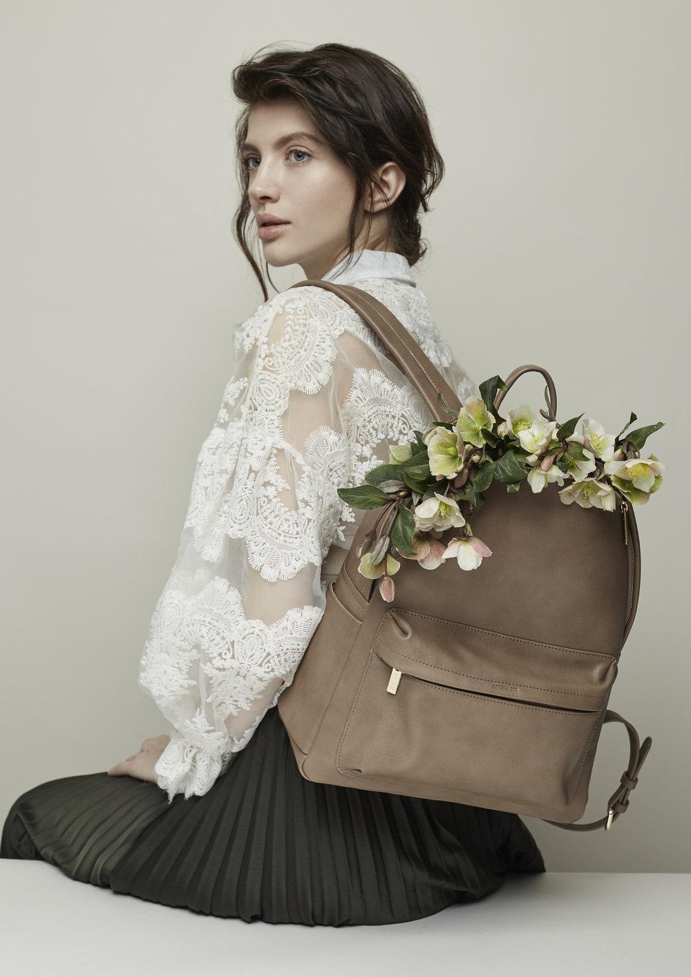 Luxury vegan backpack